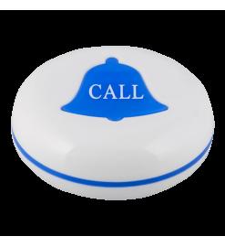 K-V влагозащищённая кнопка вызова (белый/синий)