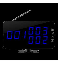 Беспроводное табло вызова K-4-C (синий)