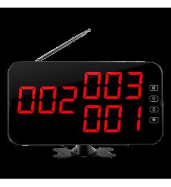 Беспроводное табло вызова K-4-C  (красный)