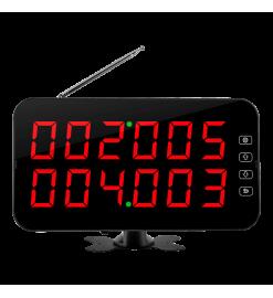 Беспроводное табло вызова K-4-D  (красный)