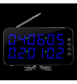 Беспроводное табло вызова K-4-F  (синий)